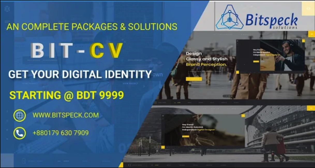 BIT-CV | Portfolio Website - CV/Resume - Services