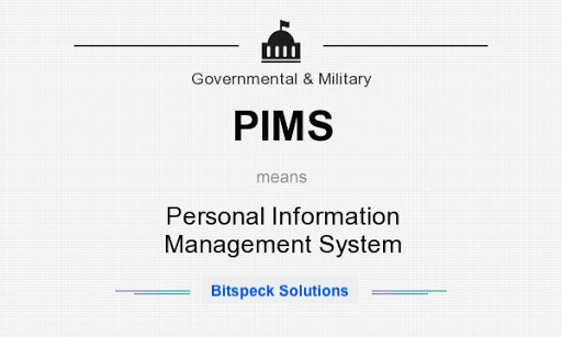 Personal Information Management System (PIMS) For Government Agency