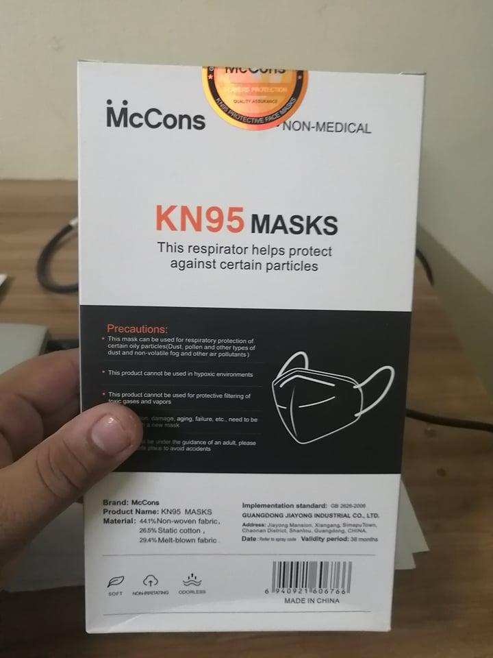 McCons KN95 Original Mask
